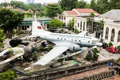 Ho Chi Minh's personal plane. Vietnam Military History Museum, Hanoi.