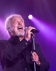Sir Tom Jones. Yes I love his music ☺ thanks to my parent for this