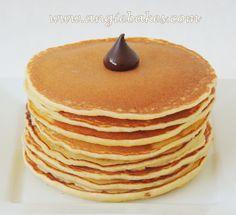 Lievance z mascarpone Pancakes, Food And Drink, Sweets, Breakfast Ideas, Fit, Basket, Mascarpone, Good Stocking Stuffers, Shape