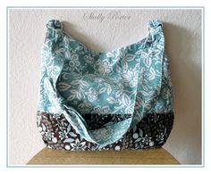 Turquoise Hobo Bag - $30.00 on Etsy