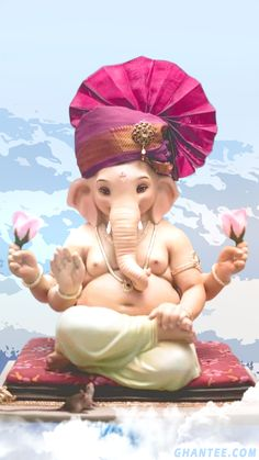 Ganpati Photo Hd, Ganpati Bappa Photo, Shri Ganesh Images, Ganesha Pictures, Baby Ganesha, Baby Krishna, Ganesha Painting, Ganesha Art, Ganpati Bappa Wallpapers