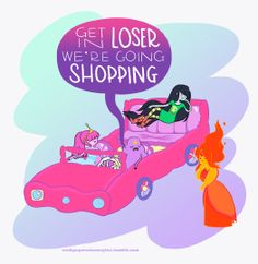 Adventure Time / Mean Girls mashup