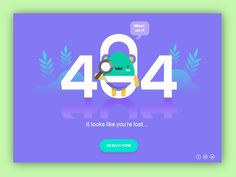 Here's the concept of an 404 Error Page. This is a conceptual Web Template Design. Tried to make it clean and minimal yet attractive. I would love to hear your thought and constructive criticism. Web Design, Page Design, Website Design Inspiration, Information Architecture, Error Page, Layout, 404 Page, Application Design, Dashboard Design