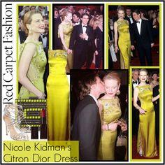 """Nicole Kidman's 1997 Dior Oscars Dress"" by lisabedow ❤ liked on Polyvore"