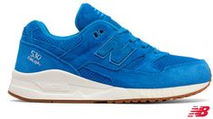 CHeck out these stylish trainers from New Balance 530 Lux Suede Only £59.90 and also available in pink.
