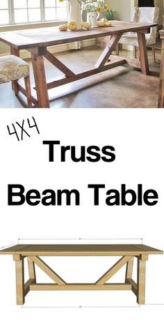 Woodworking Furniture Plans, Woodworking Projects Diy, Free Woodworking Plans, Woodworking Ideas Table, Rockler Woodworking, Woodworking Techniques, Woodworking Shop, Diy Dining Table, A Table