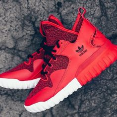 Red tubular X  MensSneakers  igbosshunting by menssneakers Adidas Tubular  Runner ac96d52f9