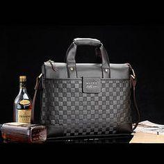 Ekte skinn kuskinn Laptop Bag mann veske business casual skulder Bags Messenger 935.25 kr.