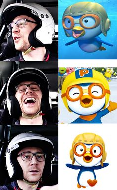 Proof Tom Hiddleston is a cartoon penguin.