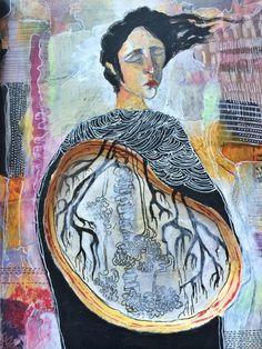 class sketchbook_back cover - by bun - artist: roxanne coble