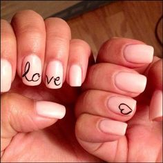 Gel Nails Designs | Gel nail! Design idea from Pinterest, perfectly replicated by Lai ...
