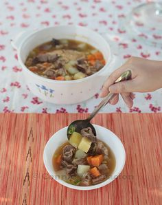 Picadillo Soup