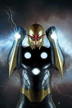 One of the biggest comic book badasses of all-time, Richard Rider; a.k.a. - NOVA!!