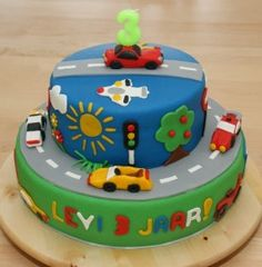 Another cake possibility Race Car Cakes, Truck Cakes, Cupcakes, Cupcake Cakes, 4th Birthday Cakes, Cooking Cake, Cakes For Boys, Pretty Cakes, Celebration Cakes
