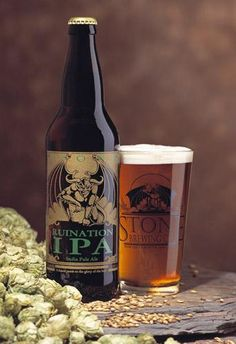 Stone Ruination IPA by Stone Brewing Company