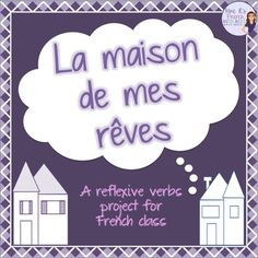 My dream house is a project for French students who are learning the rooms of…