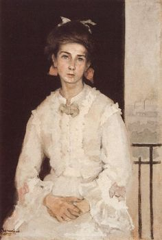 colourthysoul: Romaine Brooks - Portrait of a Girl (1910)