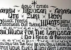 chaz bojorquez alphabet - Google Search