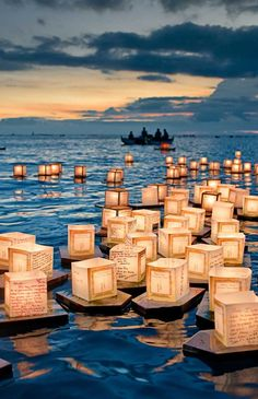 Floating Lanterns, Honolulu, Hawai