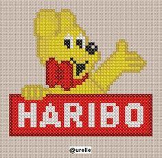 Pixel Art Logo, Hama Beads Disney, Art Perle, Filet Crochet, Cross Stitching, Embroidery Patterns, Ranger, Pokemon, Quilts