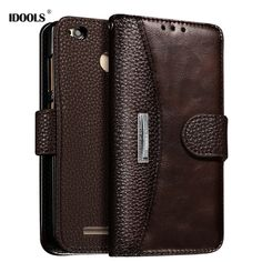 Case For Xiaomi Redmi 3 3S 3 4 Pro Prime Note 3 4 Pro Prime Phone Bags Cases Luxury PU Leather Dirt Resistant Cover Coque IDOOLS