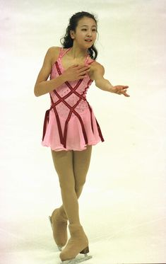 Mao Asada -Pink Figure Skating / Ice Skating dress inspiration for Sk8 Gr8 Designs.