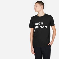 The 100% Human Unisex Crew in Medium Print, #ad