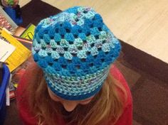 Granny slouch hat
