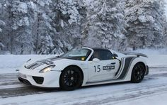 Porsche 918 Spyder winter testing #Martini #MartiniRacing