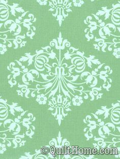 Midwest Modern AB24-Green Fabric by Amy Butler ($9.50/yd)