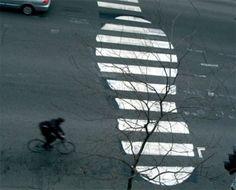 Street-Art auf der Straße
