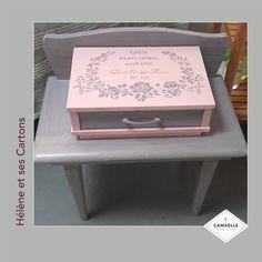 Hélène et ses cartons (78) Pochoir Parfumerie de Grasse