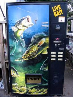 A collection of odd and very unusual vending machines from around the world. A collection of odd and very unusual vending machines from around the world. - Stupid, Weird - Check out: Strange Vending Machines on Barnorama Live Lobster, Live Bait, Meanwhile In, Save The Children, Fishing Bait, Weird World, Weird Facts, Minnesota, Funny Pictures