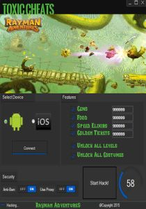 cheats for rayman adventures hacks cheats unlimited gems