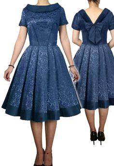 Jacquard Bow-back Dress Amber Middaugh -Save 37% at Chicstar.com Coupon: AMBER37