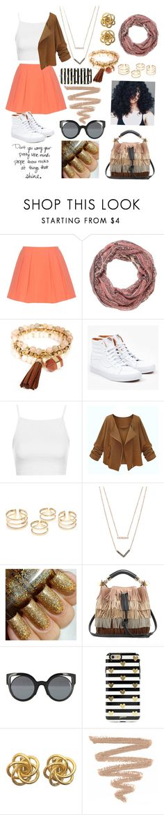 """Shine🌻🍂🌻🍂"" by raven-so-cute ❤ liked on Polyvore featuring Alice + Olivia, maurices, Panacea, Vans, Topshop, Michael Kors, Chloé, Fendi, Sonix and Peace and Love by Calao"