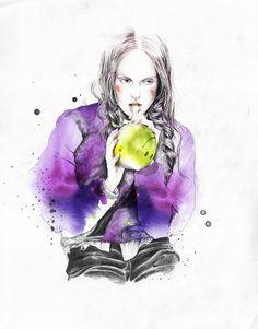 Esra Røise, ilustración de moda desde Noruega
