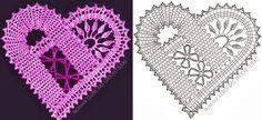 Zbliżają się Walentynki. Ale ten czas leci!!!  Podsuwam parę walentynkowych wzorów... może kogoś zainspirują :)   Serwetki/ bieżniki:       ...