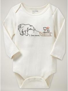 mommy and daddy bodysuit  antique white 7.99  #868386