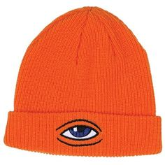 With Tags Toy Machine Skateboards Sect Eye Dock Beanie (orange) for sale online Orange Beanie, Orange Hats, Beanie Boos, Beanie Babies, Girl Beanie, Cute Beanies, Cute Hats, Grunge Outfits, Skateboard Store