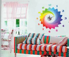 f6ae9091f72 45 Best Wall Decal - Lamp - Clock images