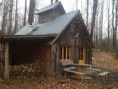 shack living in the woods | la pause sylvestre 2 Vegetarian Sugar Shack La Pause Sylvestre Offers ...