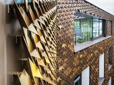 Mayfair House by Squire and Partners, London   UK wall cover metal