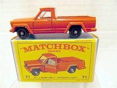 Lesney Matchbox #71 Jeep Pick-up MIB - http://www.matchbox-lesney.com/35255