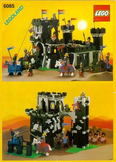 Castle - Black Monarchs Castle [Lego 6085] instructions