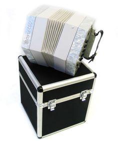 Concertina Accordion 30 Button White Pearl C/G w/Case, Bonetti AP30 WHT - http://musical-instruments.goshoppins.com/accordion-concertina/concertina-accordion-30-button-white-pearl-cg-wcase-bonetti-ap30-wht/
