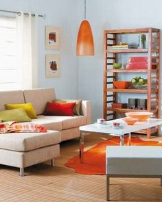 Coloridas Ideas para tu Sala