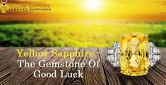 Check Out Our Vast Collection Of Yellow Sapphire Gemstone Natural Sapphire, Sapphire Gemstone, Luxury Lifestyle, Gemstones, Yellow, Garnet, Check, Healing, Collection