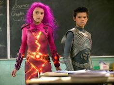Immagine 17210 per il personaggio Taylor Dooley: Taylor Dooley con Taylor Lautner in The Adventures of Shark Boy & Lava Girl in 3-D. Le migliori immagini scaricabili in alta risoluzione o navigabili direttamente sul sito