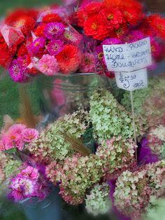 Flower marketplace http://www.workingforcarrots.com/